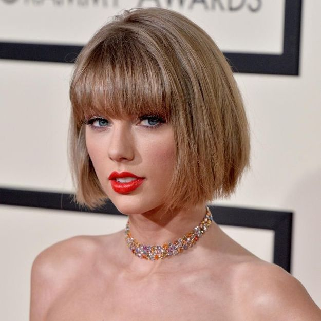 Taylor Swift adopte le carré court d'Anna Wintour