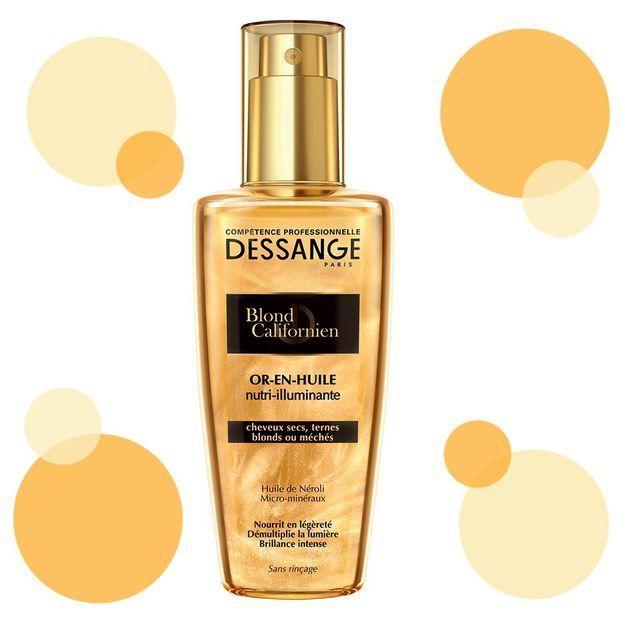 #ELLEBeautyCrush : l'huile Dessange qui illumine les cheveux blonds
