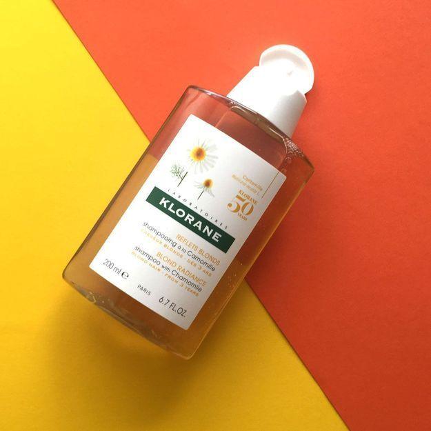 #ELLEBeautyCrush : le shampoing à la camomille de Klorane