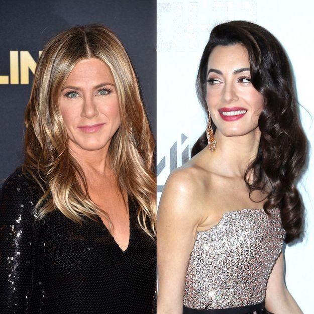 Amal Clooney, Jennifer Aniston : découvrez les rouges à lèvres à leur effigie
