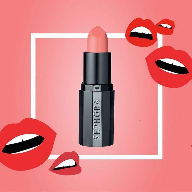 Découvrez le nouveau rouge à lèvres Sephora Rouge dans votre magazine ELLE