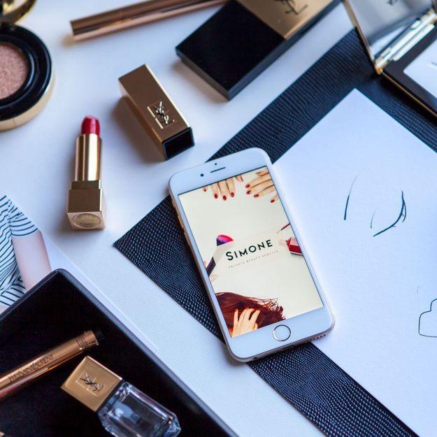 #ELLEBeautyCrush : le cours de maquillage YSL sur l'appli Simone