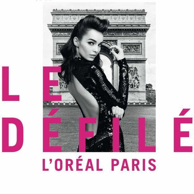 #ELLEBeautySpot : le défilé L'Oréal Paris sur les Champs Elysées est ouvert à tous !
