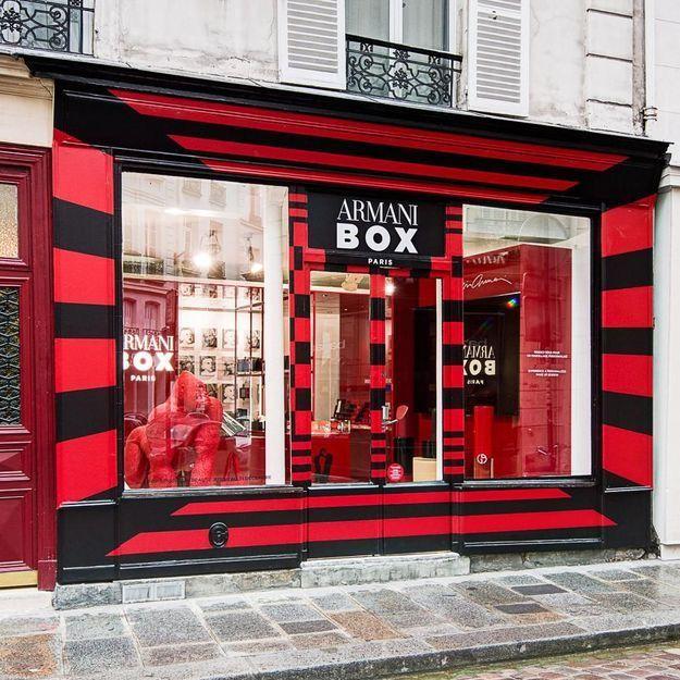 #ELLEBeautySpot : le pop-up store beauté Armani Box dans le Marais