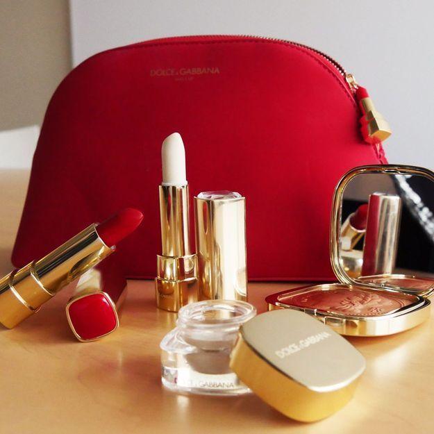 On aime : le maquillage de Noël de Dolce & Gabbana