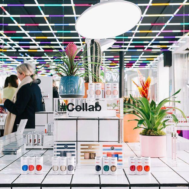 #ELLEBeautySpot : créez votre vernis au pop-up store Nailmatic à Paris