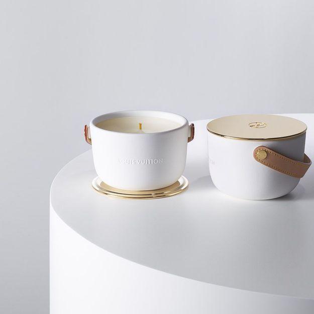 #ELLEBeautyCrush : les précieuses bougies parfumées de Louis Vuitton