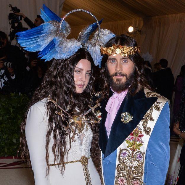 Jared Leto & Lana Del Rey, le duo illuminé du parfum Gucci Guilty