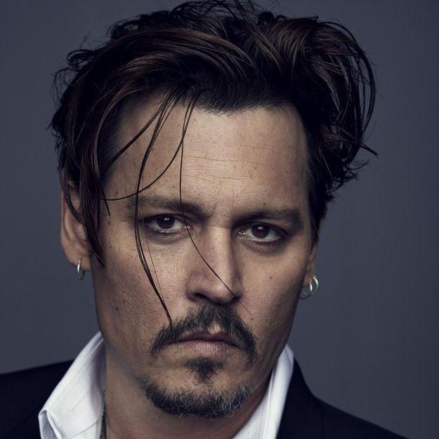 Johnny Depp, nouveau visage d'un parfum Dior