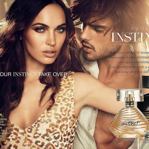 Megan Fox, égérie sensuelle du parfum Instinct d'Avon