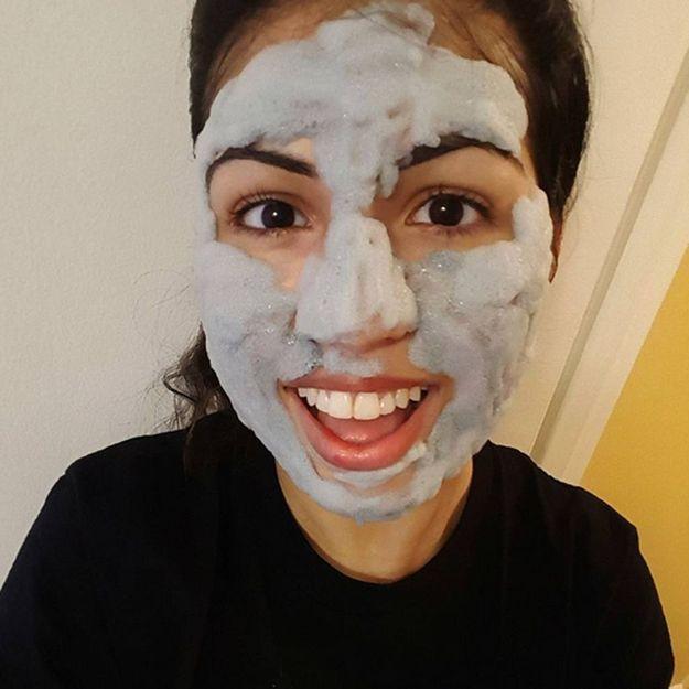Bubble mask : le nouveau soin qui nous fait mousser (… et rigoler !)