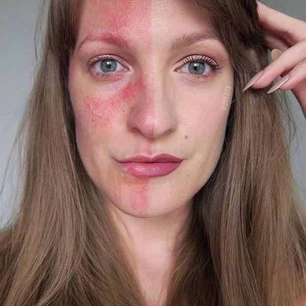 Elle s'affiche sans maquillage pour une bonne raison
