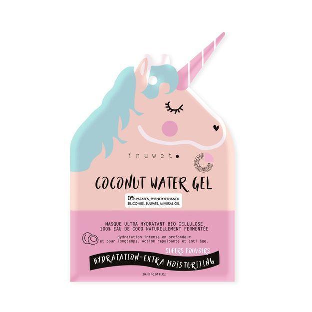 #ELLEBeautyCrush : les masques Bio cellulose licorne Inuwet
