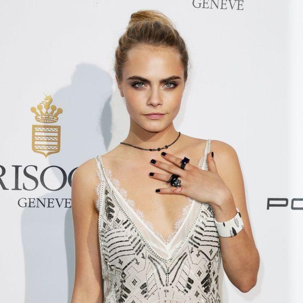 Pourquoi le vernis noir séduit les stars à Cannes