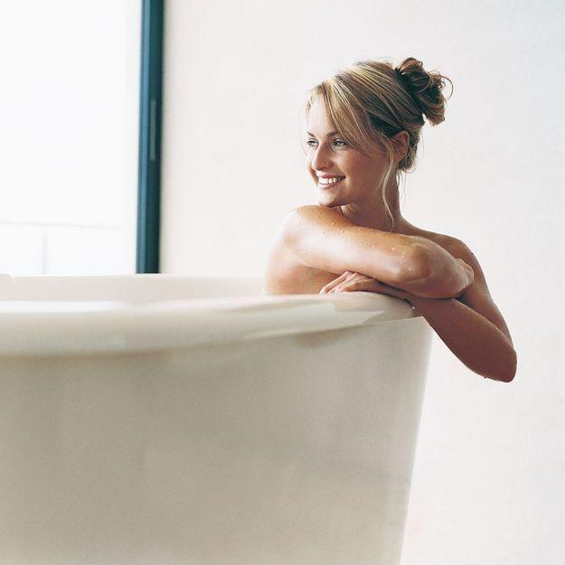 Des huiles essentielles pour le bain ?