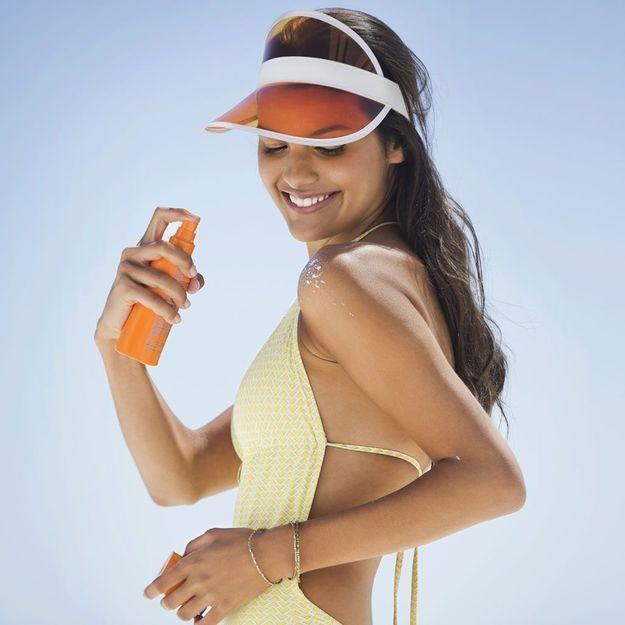 Pensez-vous à appliquer de la crème solaire partout ?