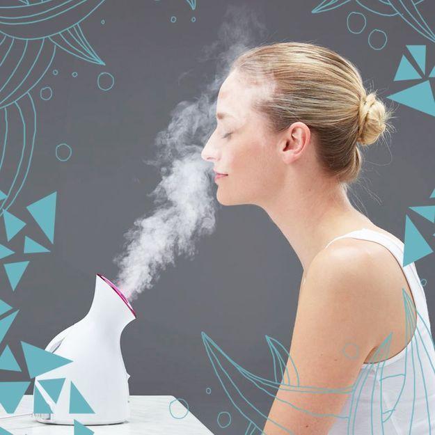 Soin visage : que penser du sauna facial ?