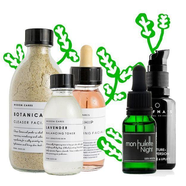 12 produits de beauté issus de la nature pour une routine 100 % green