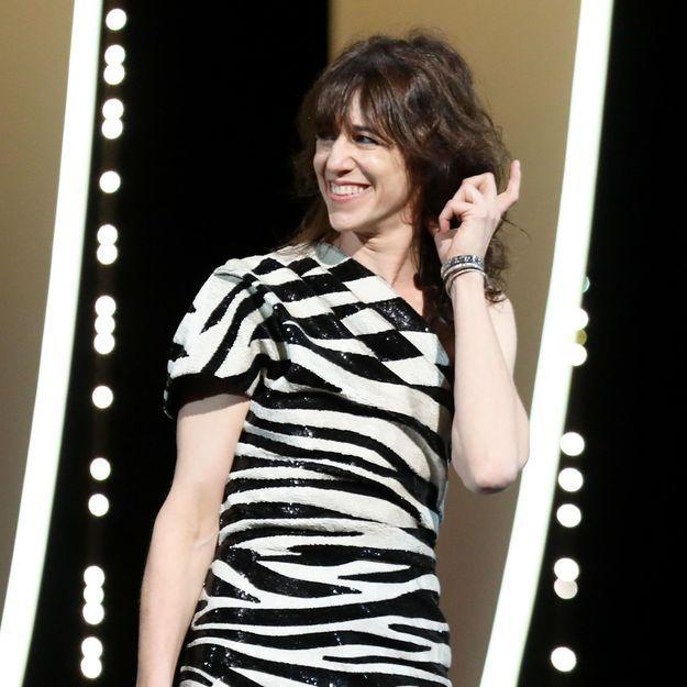 Charlotte Gainsbourg : sa coiffure rock fait son effet sur le tapis rouge de Cannes