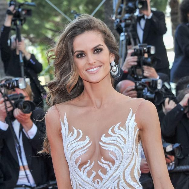 Le sans faute beauté d Izabel Goulart à Cannes - Elle bac1585aefe
