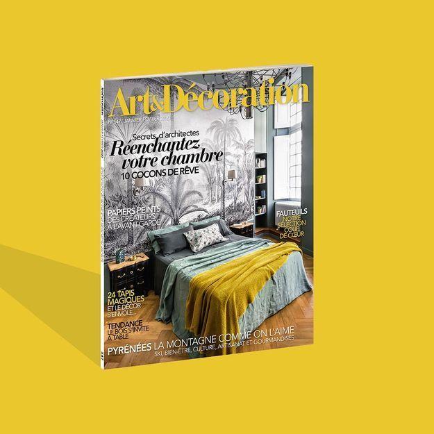 Cocoonez en beauté avec le nouveau numéro d'Art & Décoration