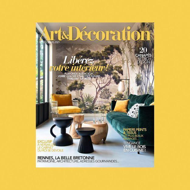 Collab' mania avec le nouveau numéro d'Art & Décoration