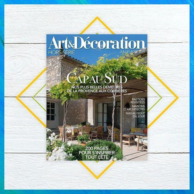 Direction le Sud avec le hors-série Art & Décoration !