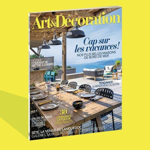 La déco fait sa révolution ! avec le nouveau numéro d'Art & Décoration