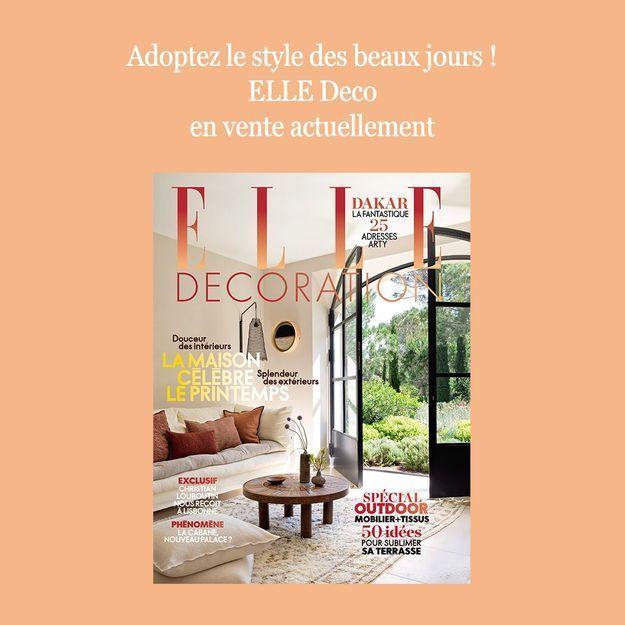 Un bain de douceur avec votre nouveau magazine ELLE Décoration