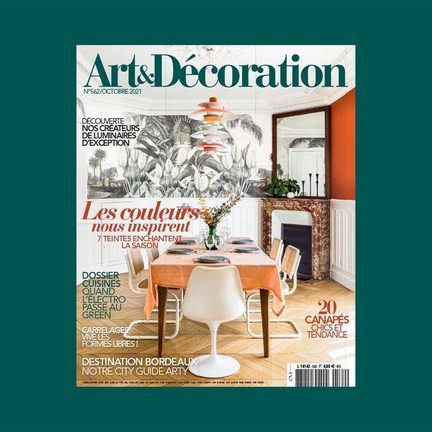 Vivre green…c'est aujourd'hui facile ! avec le nouveau numéro d'Art & Décoration