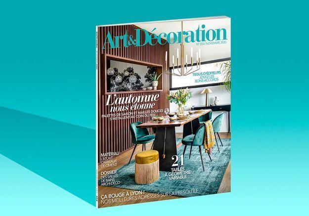 Wabi-Sabi l'épure en version charme dans le nouveau numéro d'Art & Décoration