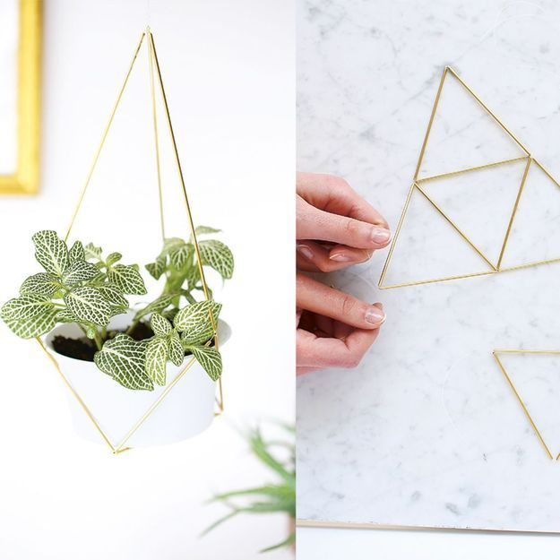 Diy fabriquer une suspension de plante en laiton for Site de plante