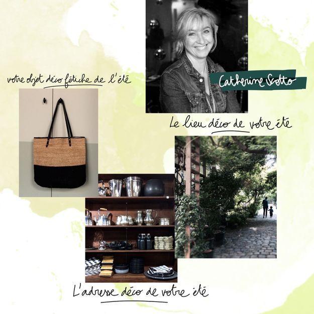 Les coups de cœur estivaux de Catherine Scotto, rédactrice en chef ELLE Décoration