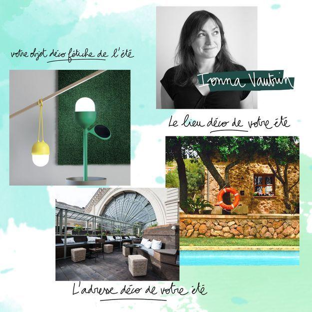Les coups de cœur estivaux de la designer Ionna Vautrin