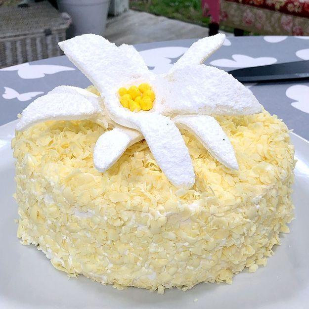 Le Meilleur Pâtissier : comment faire le gâteau Edelweiss de Mercotte ?