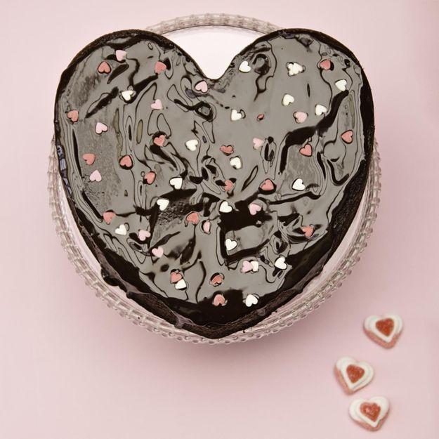Comment faire un gâteau en forme de cœur ?