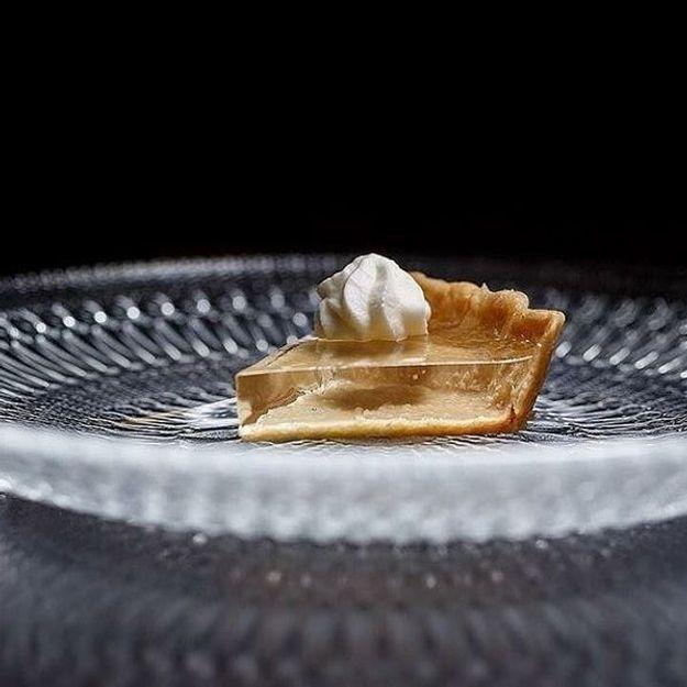 La tarte à la citrouille transparente, le dessert surréaliste