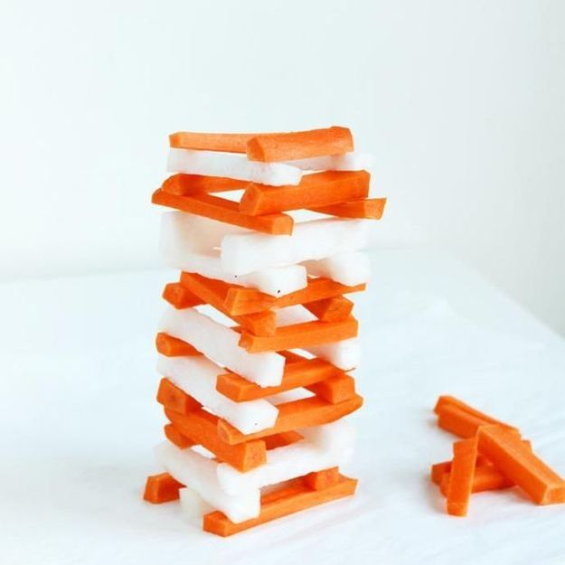 La tendance « Jenga Food » casse la baraque !