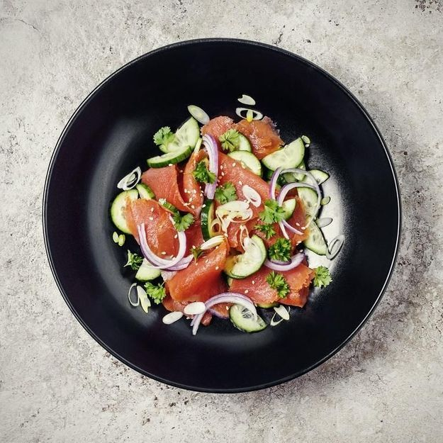 Le saumon, version réveillon