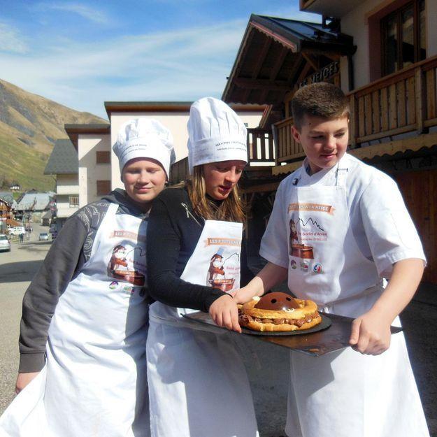 Les p'tits chefs à la neige, un concours de ski et de pâtisserie