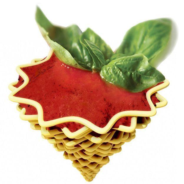 Les premières pâtes design réalisées par impression 3D