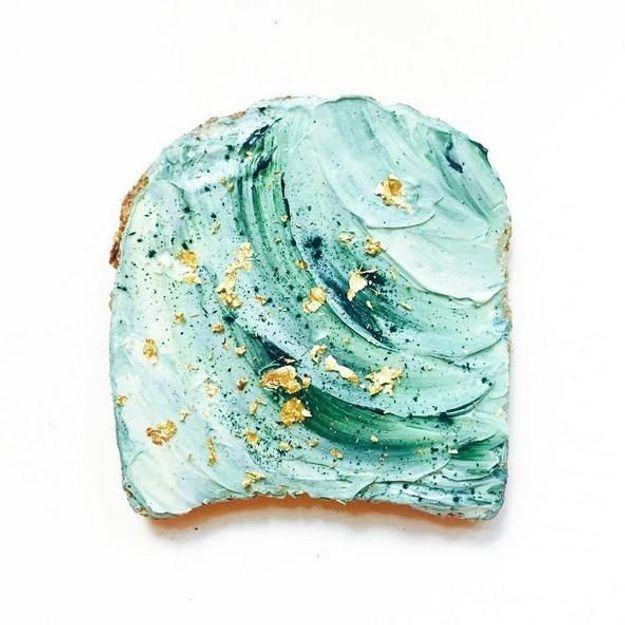 #Mermaidtoast : la tartine qui fait des vagues