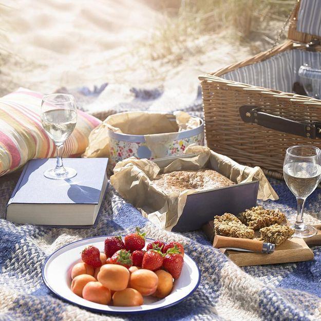 les meilleures recettes pour un pique nique la plage. Black Bedroom Furniture Sets. Home Design Ideas