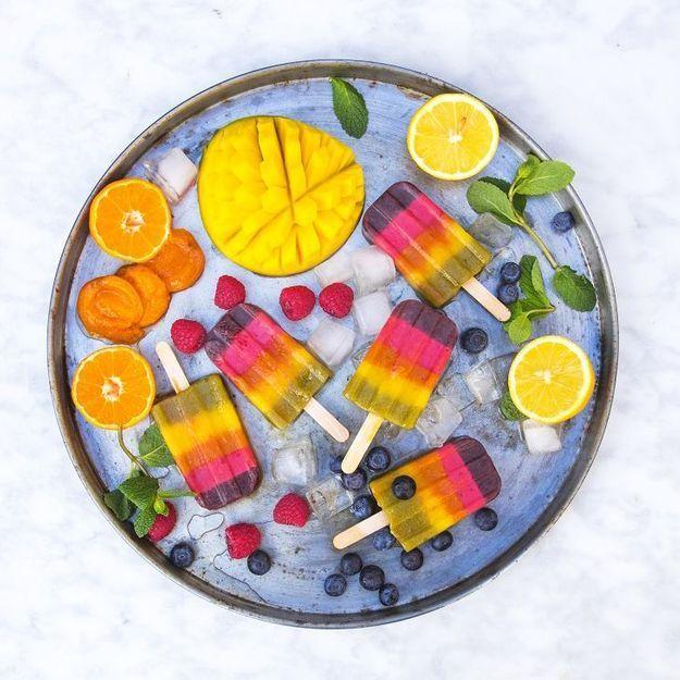 Vive la rainbow food !