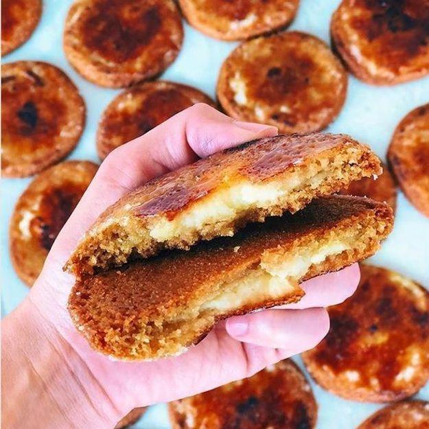 Repéré : Les cookies crème brûlée nous font craquer