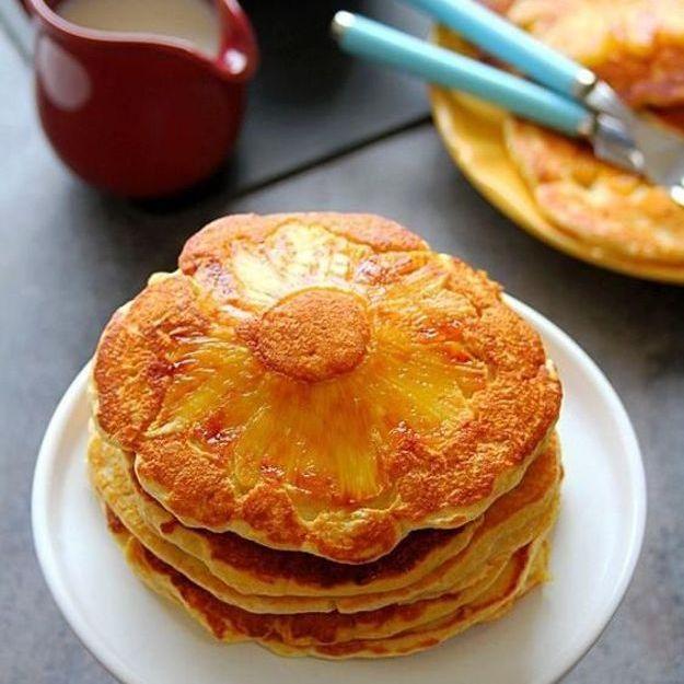 Quand les pancakes se mettent en mode tropical