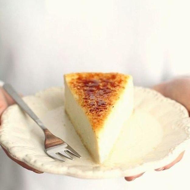 Voici pourquoi le cheesecake crème brûlée va vous mettre de bonne humeur