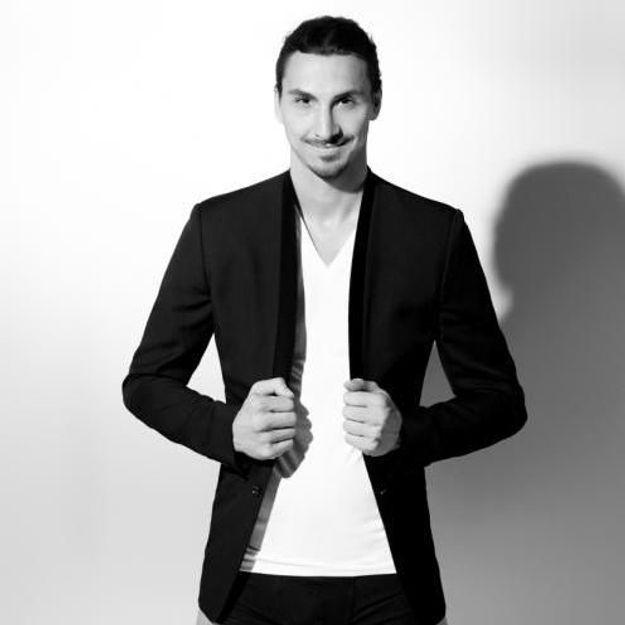 Zlatan et Karl Lagerfeld : découvrez le choc des titans dans ELLE MAN