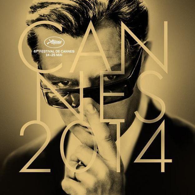 Cannes 2014: l'affiche qui honore le cinéma italien