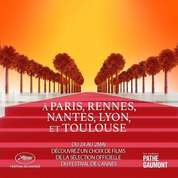 Découvrez la programmation du Festival de Cannes dans les Cinémas Pathé Gaumont